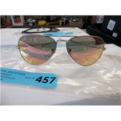 New Ray Ban Aviator Sunglasses - Reflective Lenses