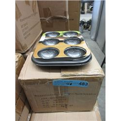 4 Cases of New Soccer Ball Muffin/Cake Tins
