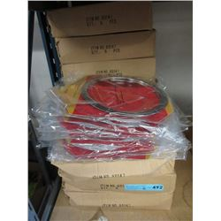 "11 Cases of New 8"" Reflector Rings - 6 Per Case"