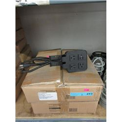 2 Cases of New 4 Socket Extension Cords