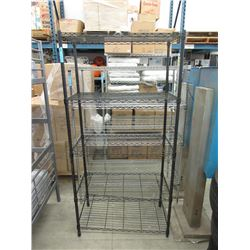 5 Tier Metal Shelving Unit