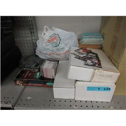 9 Boxes of Assorted Sports Trading Cards