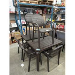 New Nardi Palma Table with 6 Chairs