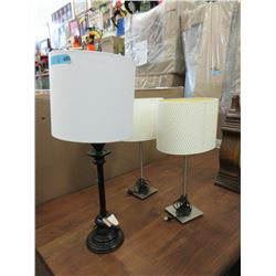 3 New Table Lamps