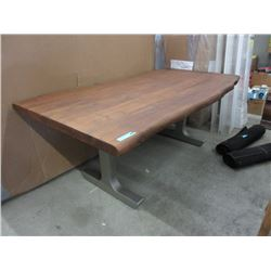 New LH Imports Live Edge Dining Table