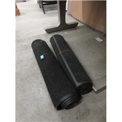 "Two 33"" Wide Rubber Back Carpet Mats"