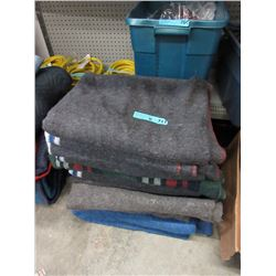 11 shipping Assorted Blankets
