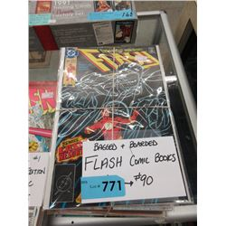 30 Bagged & Carded Flash Comic Books #60 - #90