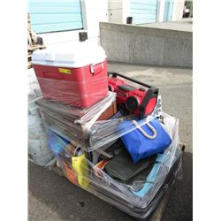 Skid of Assorted Household Goods