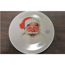 """SANTA CLAUS"" KNOWLES COLLECTOR PLATE"