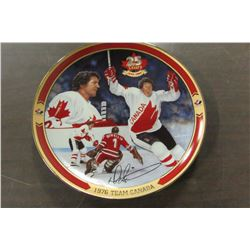 "1976 TEAM CANADA BRADFORD EXCHANGE COLLECTOR PLATE ""DARRYL SITTLER"""