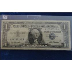 1957 USA SILVER CERTIFICATE BANK NOTE