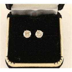 Sparkling Diamond 1/2 ct Stud earrings