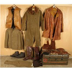 Military Trunk & Uniforms for H.J. Pfiester