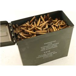 Full Ammo Can of 303 Brass