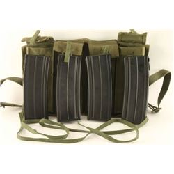 Bandolier with 4 L2A1 Magazines