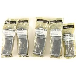 Lot of 5 Magpul Mags
