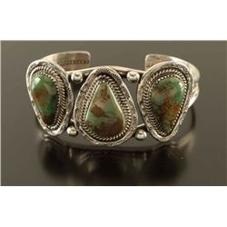 Three Stone Mohave Turquoise Cuff