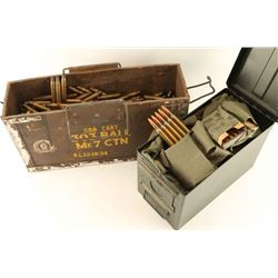 Lot of 2 Ammo Can with 30-06