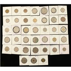 Assorted Foreign Coins Lot