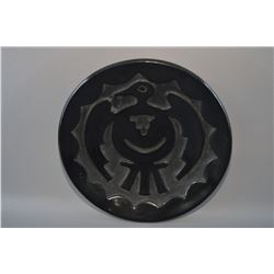 SANTA CLARA POTTERY PLATE BY ROSE GONZALES