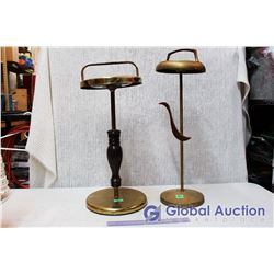 (2) Vintage Floor Ashtray Stands