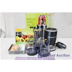 Magic Bullet Nutri-Bullet w/Recipe Book and Misc CDs