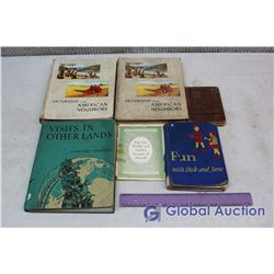 Lot of Misc Vintage Books (Dick And Jane, Etc)