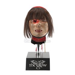 THE CROW (1994) - Myca's (Bai Ling) Special Effects Head