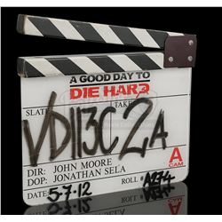 A GOOD DAY TO DIE HARD (2013) - A' Camera Clapperboard