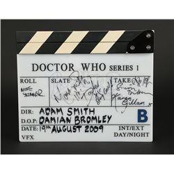 DOCTOR WHO (TV 2005 -) - Production-Used Autographed Clapperboard