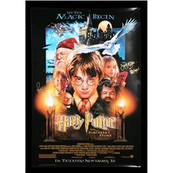 HARRY POTTER AND THE PHILOSOPHER'S STONE (2001) - Cast Autographed Poster