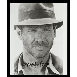 INDIANA JONES AND THE TEMPLE OF DOOM (1984) - Harrison Ford Autographed Still