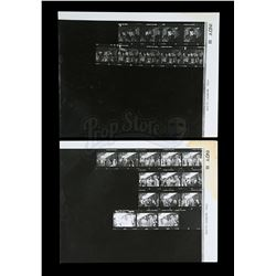 INDIANA JONES AND THE LAST CRUSADE (1989) - Pair of Contact Sheets