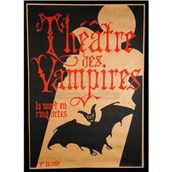 INTERVIEW WITH THE VAMPIRE: THE VAMPIRE CHRONICLES (1994) - Theatre des Vampires Prop Poster