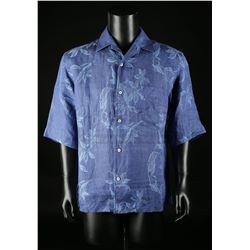 JAMES BOND: DIE ANOTHER DAY (2002) - James Bond's (Pierce Brosnan) Floral Shirt