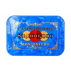 JAMES BOND: CASINO ROYALE (2006) - $1,000,000 Montenegro Casino Royale Chip