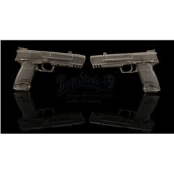 LARA CROFT TOMB RAIDER: THE CRADLE OF LFIE (2003) - Lara Croft's (Angelina Jolie) H&K USP Pistols