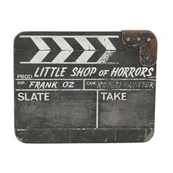 LITTLE SHOP OF HORRORS (1986) - Production-Used Clapperboard