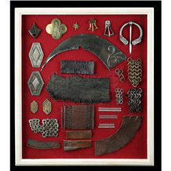 THE LORD OF THE RINGS (2001-2003) - Collection of Costume Swatches