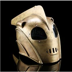 THE ROCKETEER (1991) - The Rocketeer's (Bill Campbell) Bullet-Hit Helmet