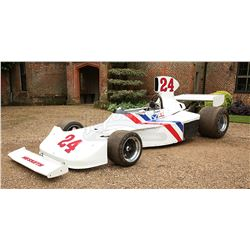 RUSH (2013) - James Hunt's (Chris Hemsworth) Hesketh 308 F1 Car