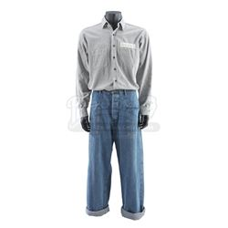THE SHAWSHANK REDEMPTION (1994) - Ellis 'Red' Redding's (Morgan Freeman) Inmate Uniform