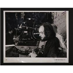 THE SHINING (1980) - Stanley Kubrick Autographed Photograph