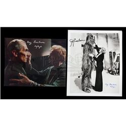 STAR WARS: A NEW HOPE (1977) - Stuart Freeborn and Kay Freeborn Autographed Photographs