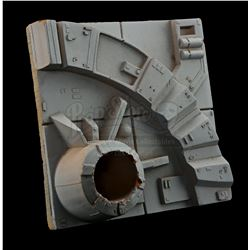 """STAR WARS: A NEW HOPE (1977) - 6"""" x 6"""" Medium Altitude Death Star Surface Square"""