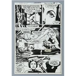 STAR WARS ANNUAL #1 (1979) - Mike Vosburg and Steve Leialoha Hand-Drawn Page 35 Artwork