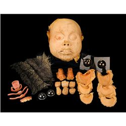 STAR WARS: RETURN OF THE JEDI (1983) - Ewok Mask and Fur Set