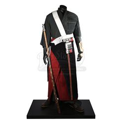 STAR WARS: ROGUE ONE: A STAR WARS STORY (2016) - Chirrut Îmwe (Donnie Yen) Exhibition Costume Displa