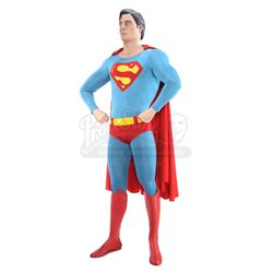 SUPERMAN (1978); SUPERMAN II (1980) - Superman (Christopher Reeve) Costume Display